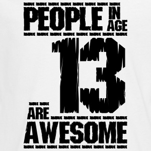 PEOPLE IN AGE 13 ARE AWESOME - Teenagers' Premium Longsleeve Shirt
