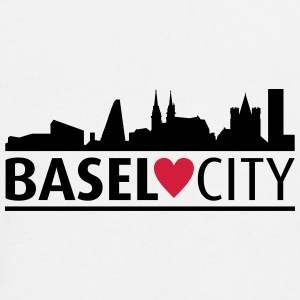 Basel city - Teenager premium T-shirt med lange ærmer