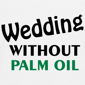 Wedding without palm oil - Teenagers' Premium Longsleeve Shirt