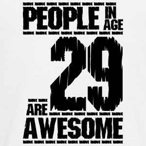 PEOPLE IN AGE 29 ARE AWESOME - Teenagers' Premium Longsleeve Shirt