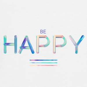 Be Happy - Maglietta Premium a manica lunga per teenager