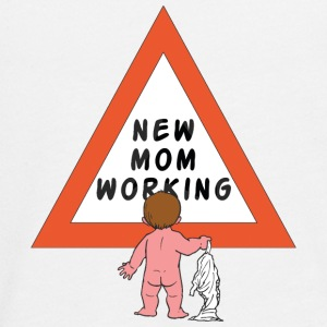 New Mom Changing Diapers - Teenagers' Premium Longsleeve Shirt