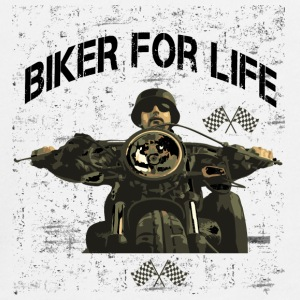 Motorcycle for life! - Teenagers' Premium Longsleeve Shirt