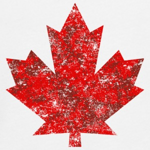 Canada Canada Maple Leaf Maple Leaf Grunge Amerika - Teenager premium T-shirt med lange ærmer