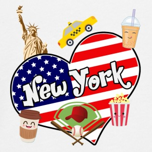 I love New York 2 - Maglietta Premium a manica lunga per teenager