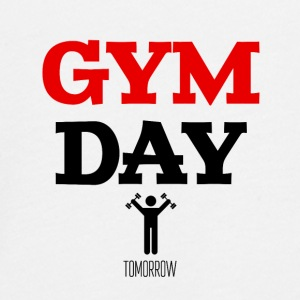 Gym Day Tomorrow - Teenager Premium shirt met lange mouwen