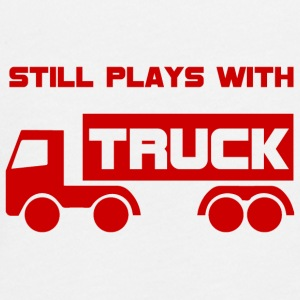 Mechanic: Still plays with Truck. - Teenagers' Premium Longsleeve Shirt