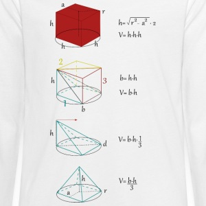 Mathman - Teenagers' Premium Longsleeve Shirt