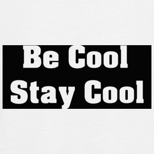 Be Cool Stay Cool - Teenager premium T-shirt med lange ærmer