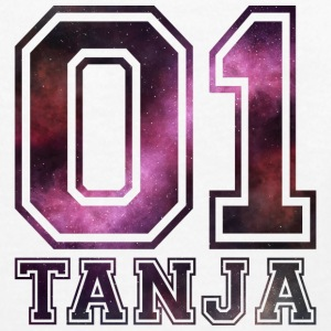 Tanja Name - Teenager Premium Langarmshirt