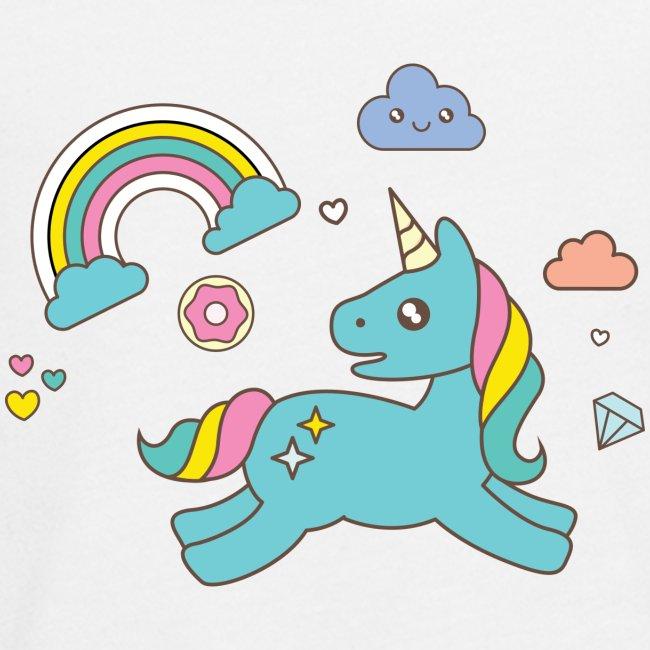 colored unicorn