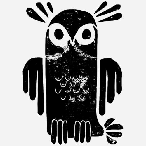 Bird | Eule | Owl | Vogel by Clarissa Schwarz - Teenager Premium Langarmshirt
