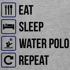 Eat Sleep Water Polo Repeat - Teenagers' Premium Longsleeve Shirt