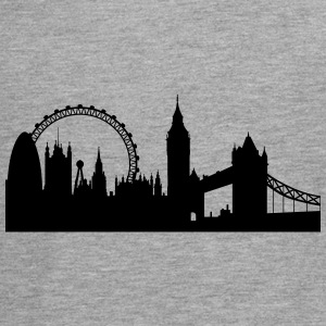 London silhouette 2 - Teenager Premium Langarmshirt
