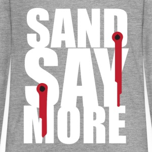 sand say more - Teenagers' Premium Longsleeve Shirt