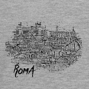 Roma / Rome motif with city sketch - Teenagers' Premium Longsleeve Shirt