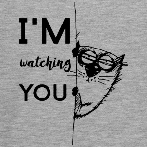 watching you - Teenager Premium Langarmshirt