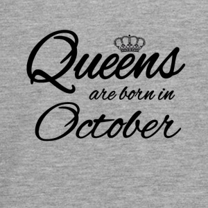 Queens Born October Princess Birthday Birthday - Teenagers' Premium Longsleeve Shirt