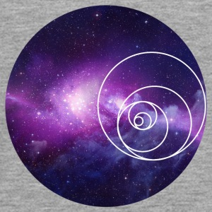 Galaxy Circle - Camiseta de manga larga premium adolescente