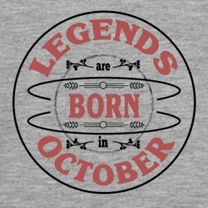 Birthday October legends born gift birth - Teenagers' Premium Longsleeve Shirt