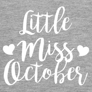 Little miss oktober - Teenager Premium shirt met lange mouwen