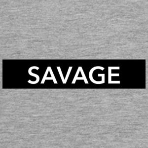 SAVAGE - Teenager Premium shirt met lange mouwen