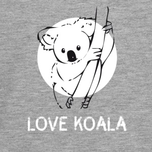 Koala bear cute drawing tree australia funny - Teenagers' Premium Longsleeve Shirt