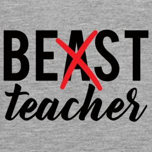 Teacher / School: Best Teacher - Teenagers' Premium Longsleeve Shirt