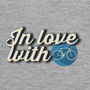 In love with cycling - T-shirt manches longues Premium Ado