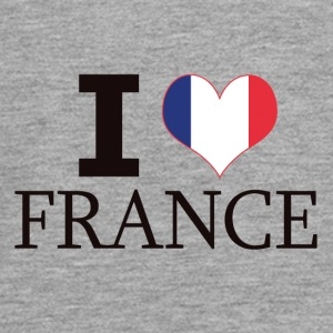 I LOVE FRANCE - Teenager Premium Langarmshirt