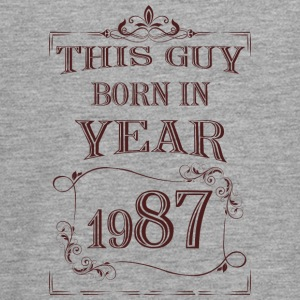 this guy born in year 1987 - Teenagers' Premium Longsleeve Shirt