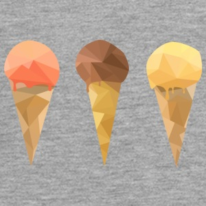 Low Poly Icecream - Teenagers' Premium Longsleeve Shirt