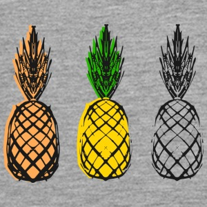 Pineapple Party - Teenager premium T-shirt med lange ærmer