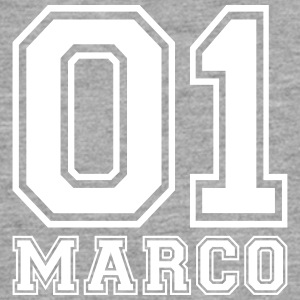 Marco - Name - Teenager Premium Langarmshirt