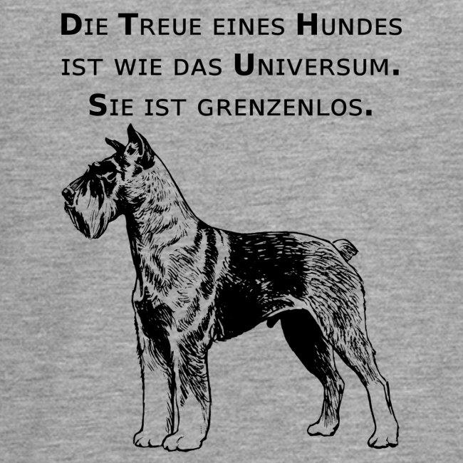 Tolles Treue Hunde Mit Spruch T Shirt Universum Teenager Premium Langarmshirt