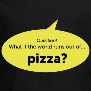 Pizza - Teenager Premium shirt met lange mouwen