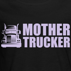 Mother Trucker - Teenagers' Premium Longsleeve Shirt
