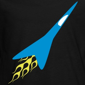 FX Starfighter - Teenagers' Premium Longsleeve Shirt