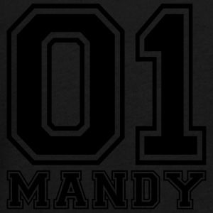 Mandy - Name - Teenager Premium Langarmshirt