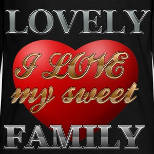 sweet_family - Teenager Premium Langarmshirt