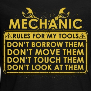Mechanic tool lines - Teenagers' Premium Longsleeve Shirt