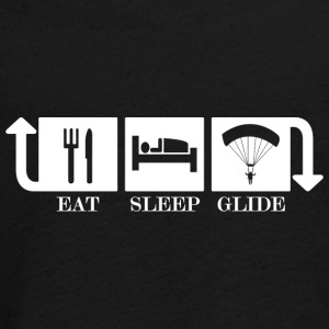 eat sleep glide - Teenager Premium Langarmshirt