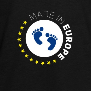 made birth foot in Europe EU Lovebaby stars EUR - Teenagers' Premium Longsleeve Shirt