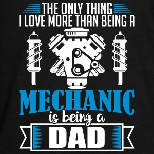 grappig vaderdag - Mechanic Dad - Teenager Premium shirt met lange mouwen