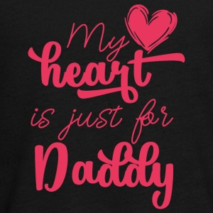 Vatertag: My Heart Is Just For Daddy - Teenager Premium Langarmshirt