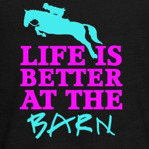 Life Is Better At The Barn - Jumper - Female - Teenagers' Premium Longsleeve Shirt