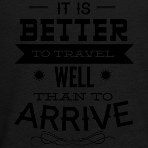 it is better to travel - Teenagers' Premium Longsleeve Shirt