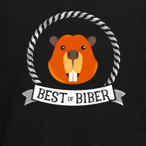 Beaver best great humor singer fan music just jubel - Teenagers' Premium Longsleeve Shirt