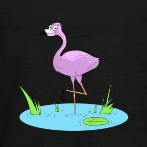 Pink Flamingo - Teenagers' Premium Longsleeve Shirt