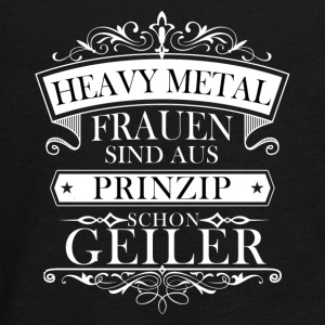Heavy Metal Frauen - Teenager Premium Langarmshirt